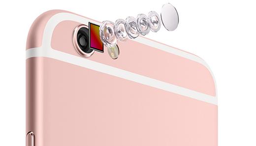 Vysoce kvalitní 12 Mpx kamera iPhonu 6S zaznamenává i 4K videa.