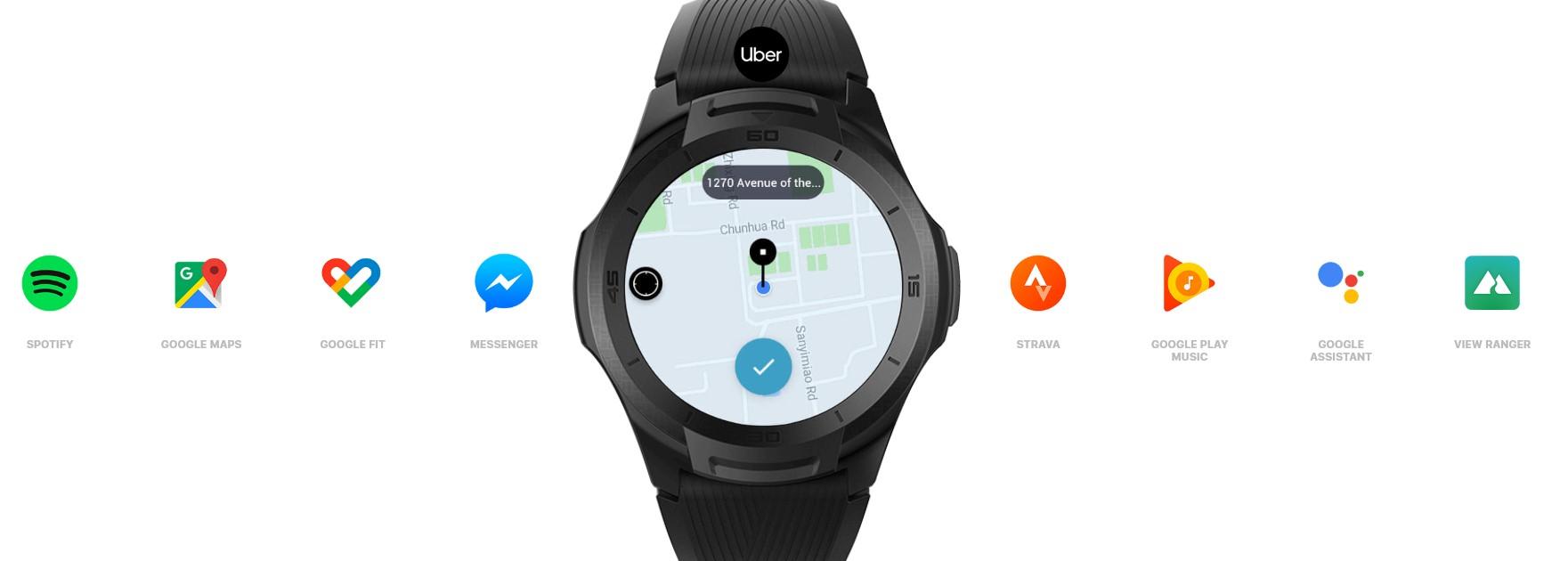 Stovky tisíc aplikací z obchodu Google Play na vašem zápěstí díky TicWatch S2