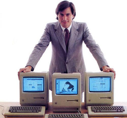 První Macintosh z rukou Steva Jobse