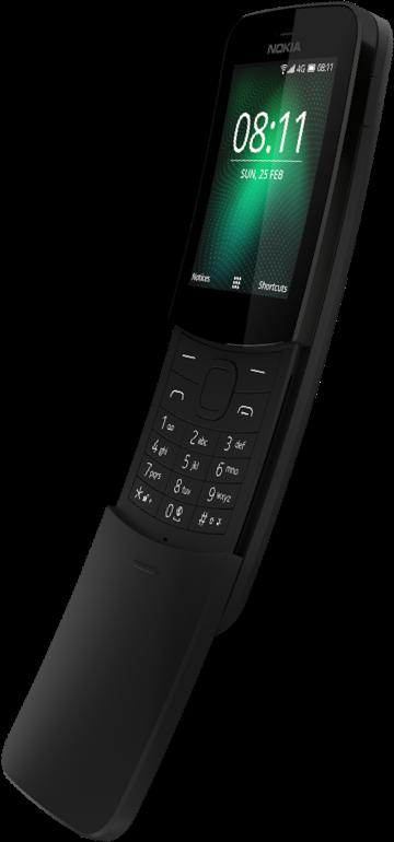 Nokia 8110 reloaded navazuje na úspěšnou Nokia 8110 známou z Matrixu