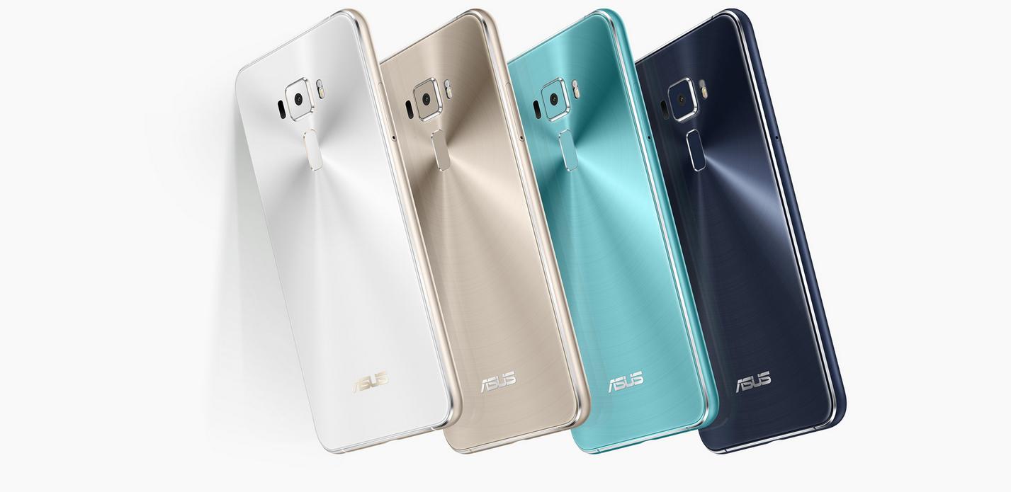 K dispozici je několik barevných variant špičkového smartphonu Asus Zenfone 3 s nejlepším fotoaparátem