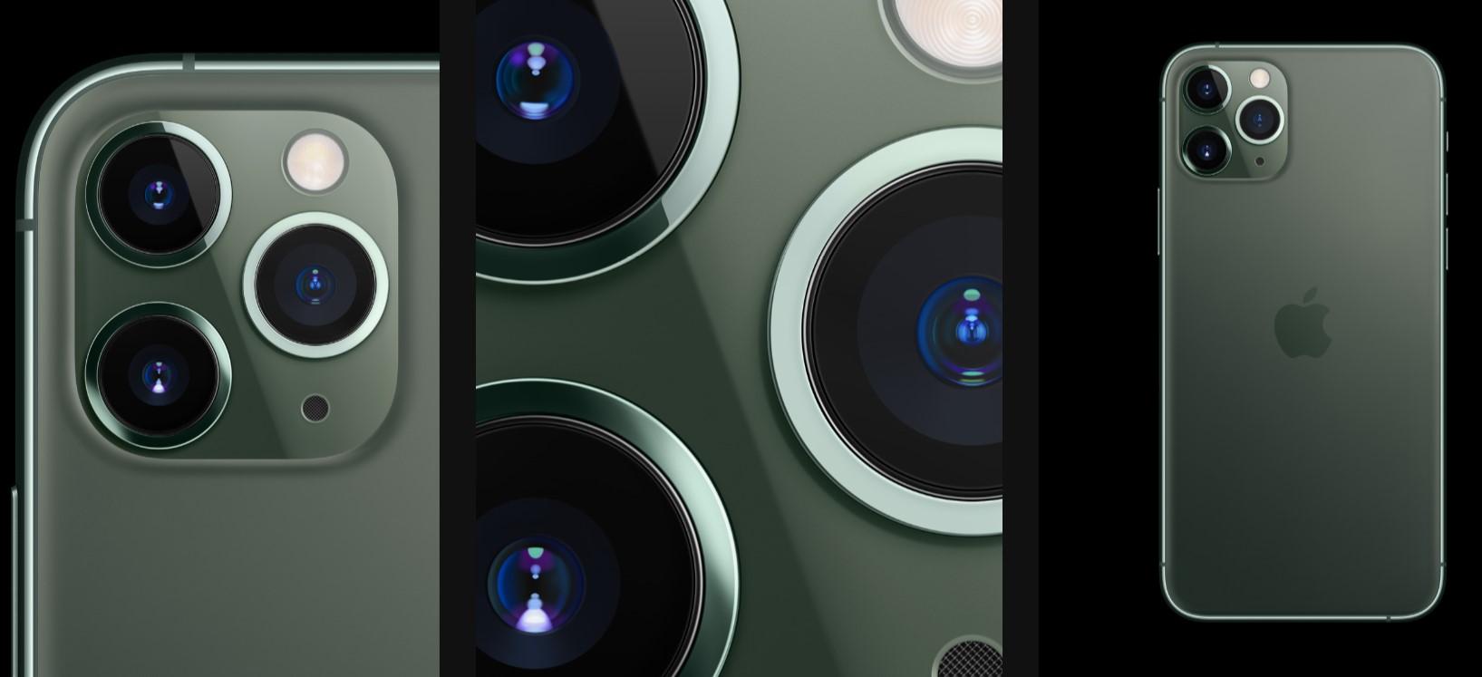 Revoluční iPhone 11 Pro a Pro Max s unikátní trojitou kamerou