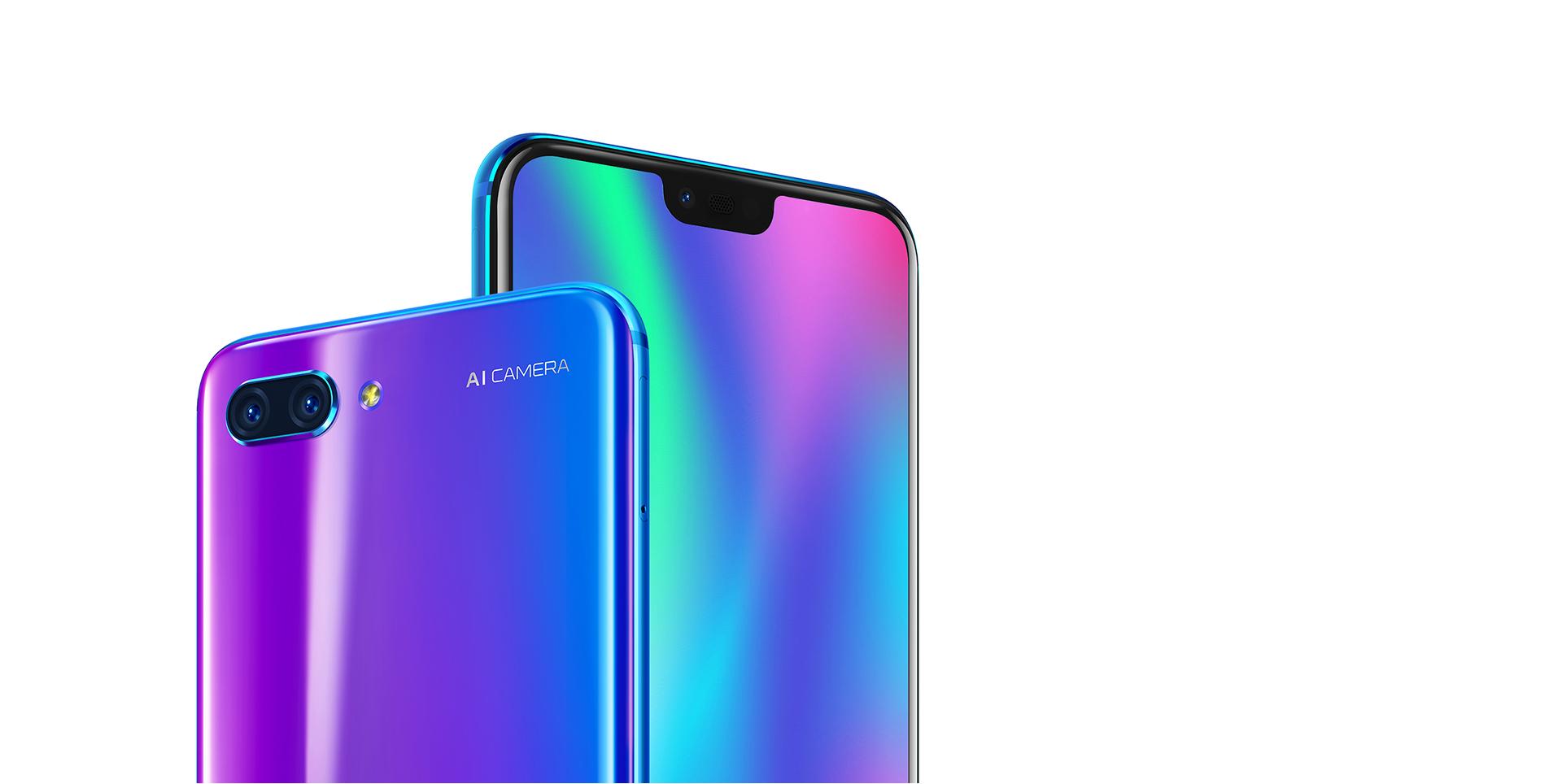 Podobu a inspiraci čerpal u Applu, to ovšem nemění nic na tom, že má Honor 10 úžasný design a luxusní IPS displej s dokonalým barevným podáním