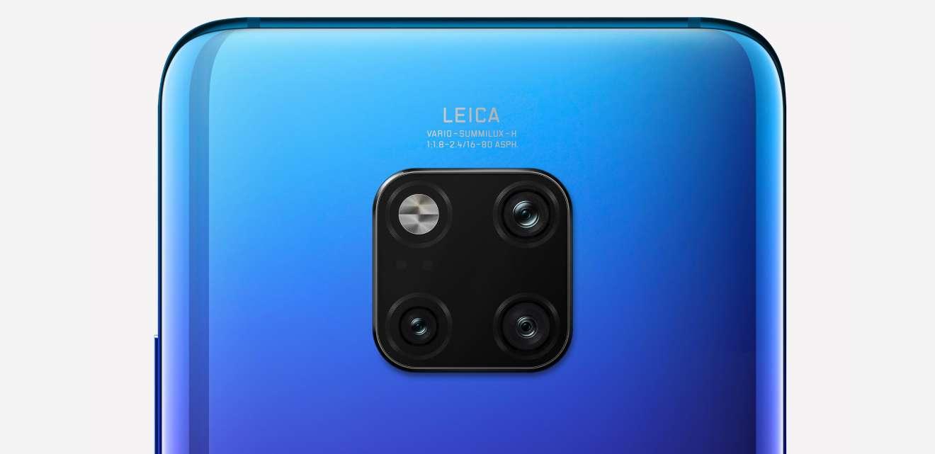 Dokonalý design s trojitou kamerou Leica na zádech