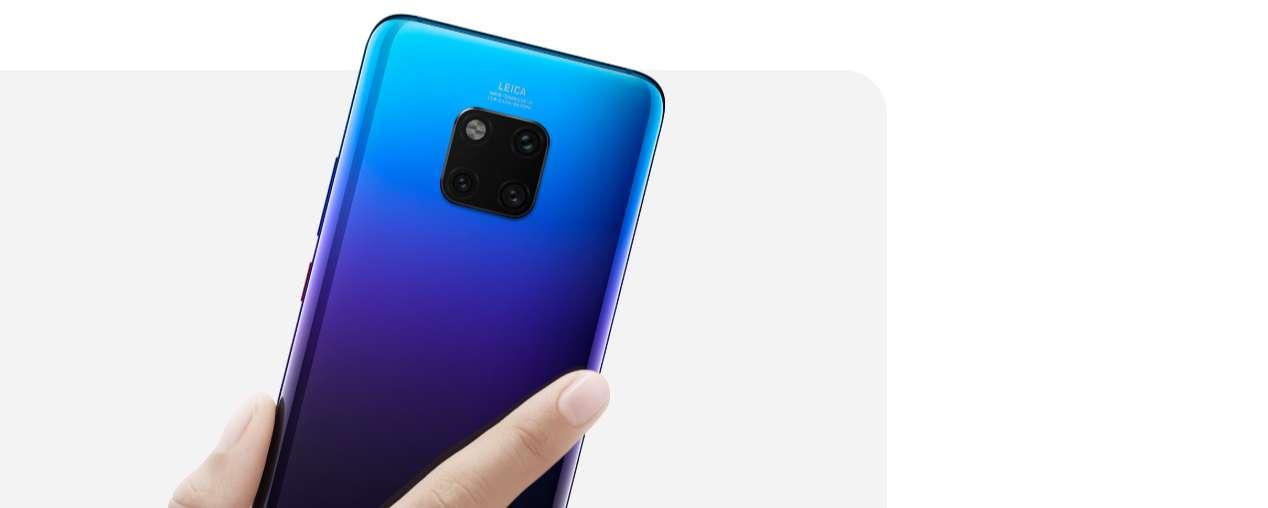 V jednoduchosti je krása, symetrický design Huawei Mate 20 Pro si zamilujete