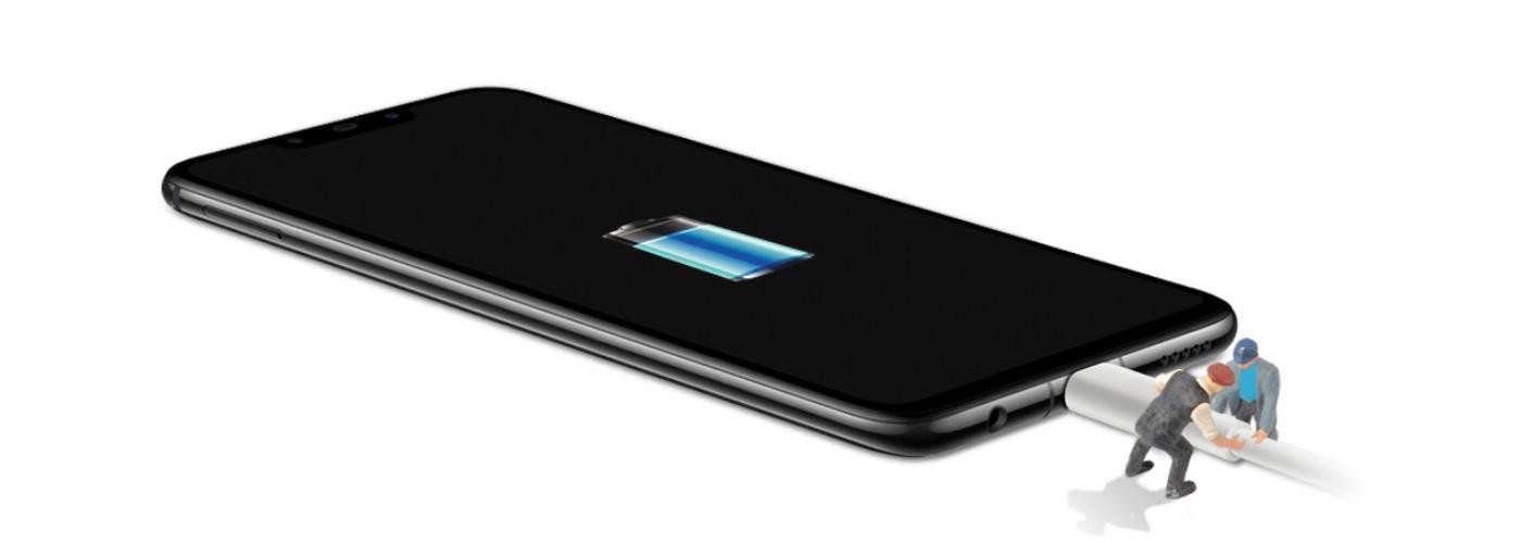Dlouhá výdrž na jedno nabití s obrovskou 3750 mAh baterii dělá z Huawei Nova 3 opravdu experta do terénu, navíc Nova 3 podporuje rychlé nabíjení