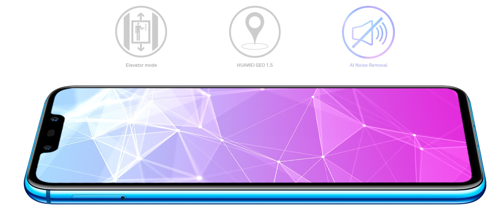 Nejmodernější konektivita Huawei Nova 3i vás spojí s celým světěm