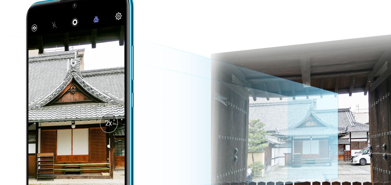 Dokonalý hybridní bezztrátový Zoom Huawei P30 Lite zajistí skvělé fotky