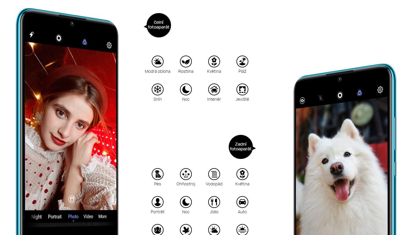 Umělou inteligencí prošpikována Huawei P30 Lite umí detekovat fotografované scény