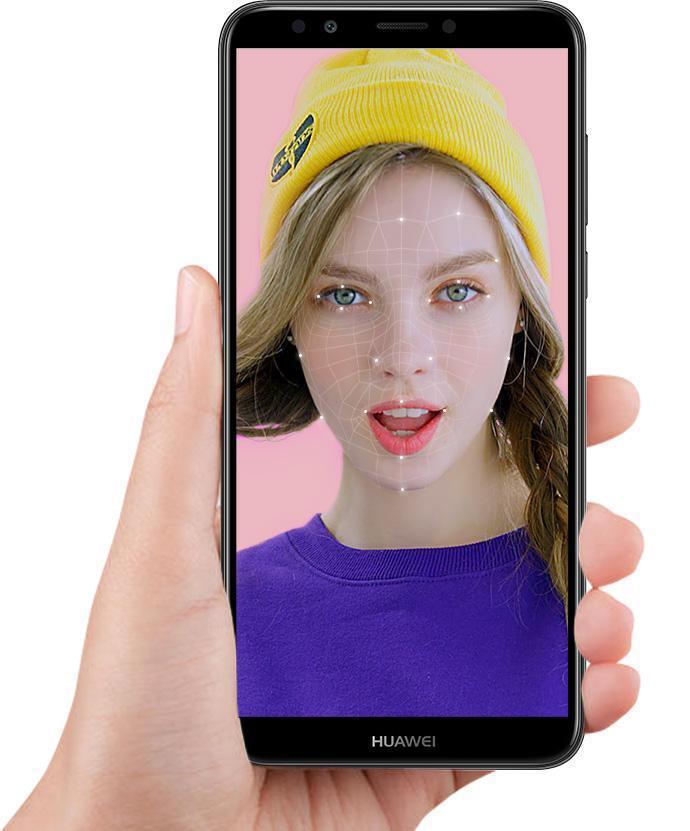 Vaše vstupní heslo je váš obličej, Huawei Y7 Prime 2018 nepustí do telefonu nikoho jiného