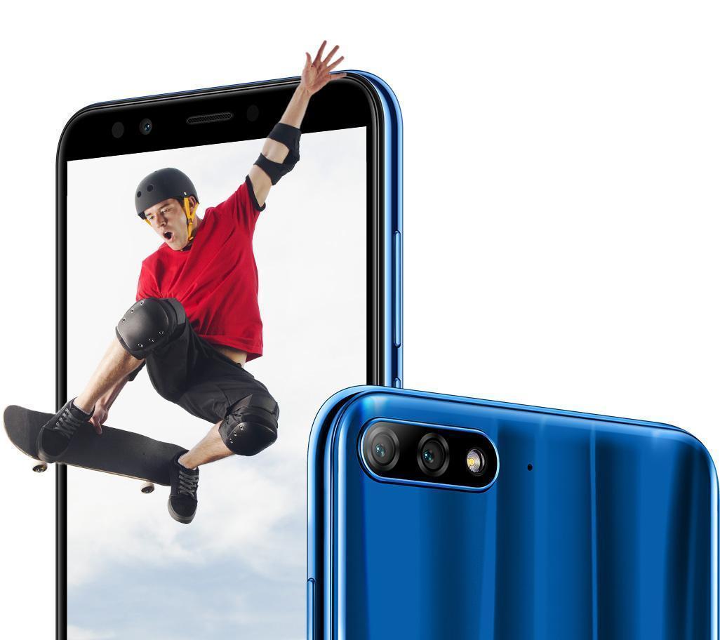 Špičková duální kamera Huawei Y7 Prime 2018 je vždy k dispozici pro ty nejlepší možné fotky