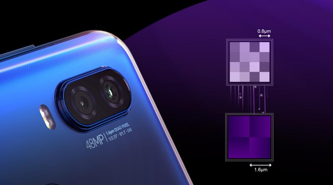 Fotoaparát s vysokým rozlišením 48 Mpx umí zaznamenat snímky lepší, než kdy předtím. Staňte se profesionálem během minuty s Motorola Moto Vision One