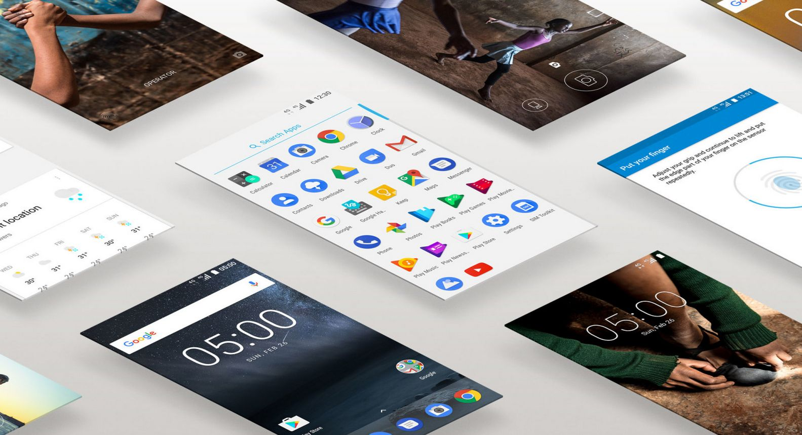 Nokia 3 s Androidem 7