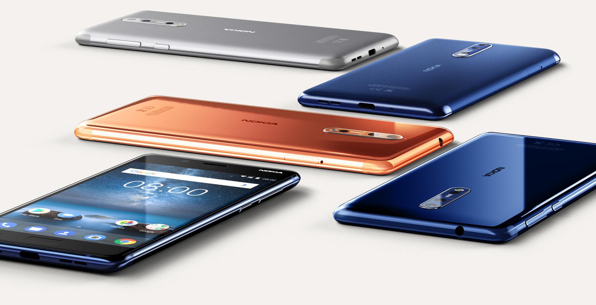 Zpracování je velkou devízou značky Nokia a Nokia 8 na tuto tradici navazuje, kovové unibody je skvostné, robustní a odolné