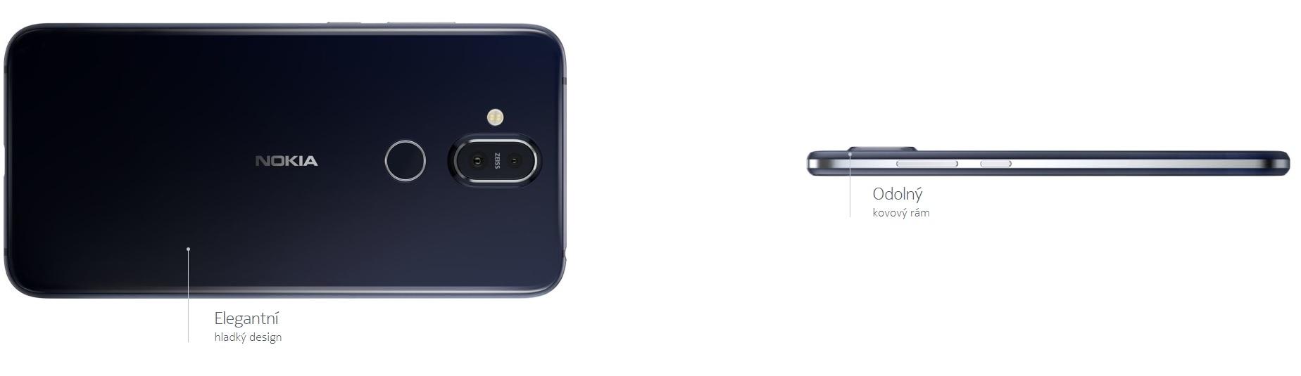 Dílenské zpracování je prvotřídní, na to už jste si ale u Nokie zvykly, že? Nokia 8.1 navazuje na tento trend.