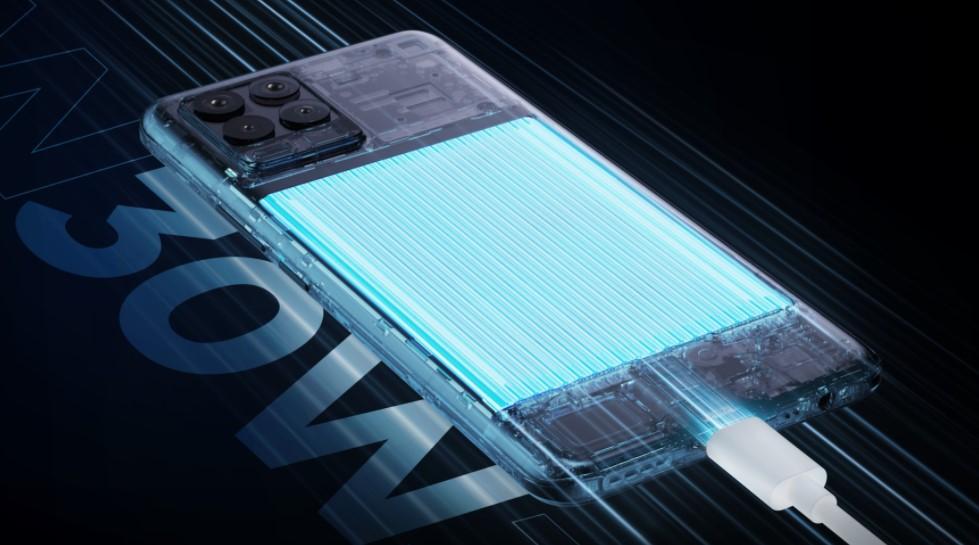 Obrovská 5.000 mAh baterie Realme 8 se dobijí 30W velmi rychle