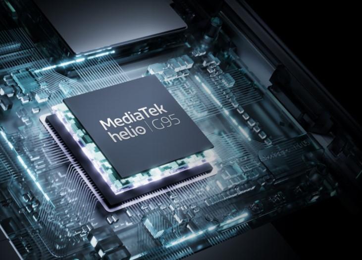 Vysoký výkon Realme 8 obstarává Mediatek Helio G95