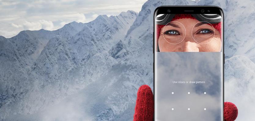 Čtečka oční duhovky je novinkou Samsungu Galaxy S8