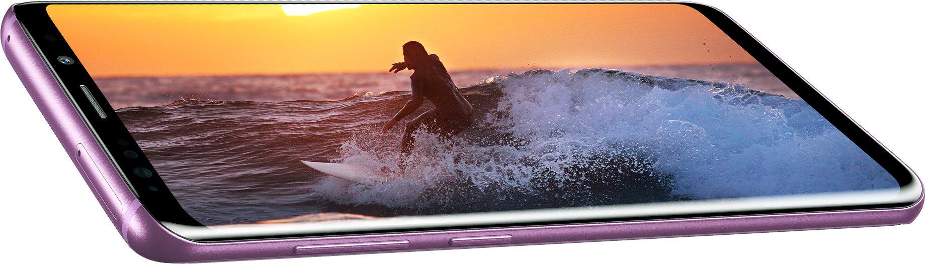 Nejdokonalejší Infinity displej si zamilujete, dokonalé barvy a špičkové pozorovací úhly - Galaxy S9
