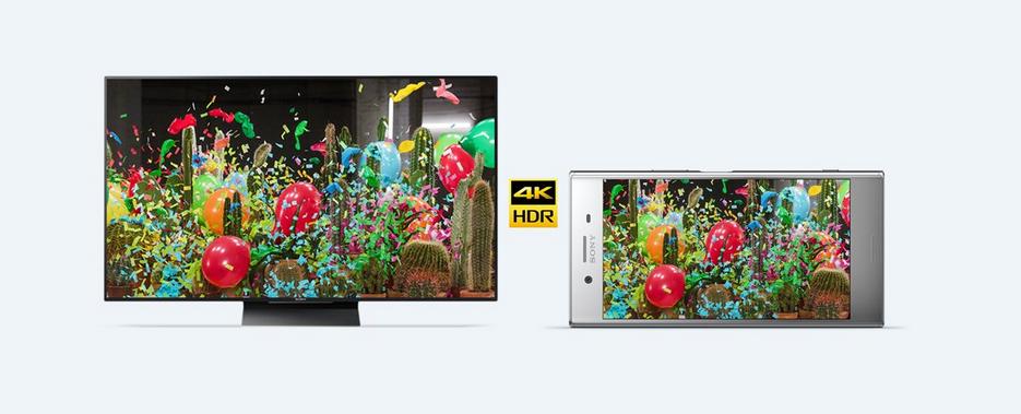Tak tohle tu ještě nebylo, jemnost přes 806 ppi, podpora HDR a 4K rozlišení na telefonu? Sony Xperia XZ Premium je prvním smartphonem se 4K/HDR displejem.