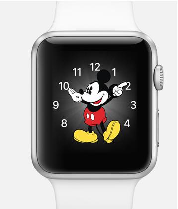 Řada vtipných nebo i stylových ciferníků je k dispozici ke stažení Apple Watch