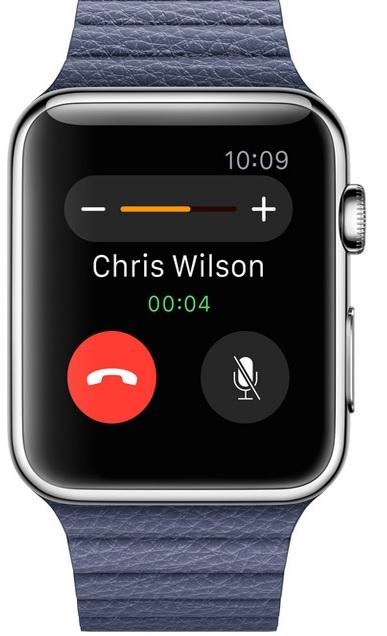Volejte jako James Bond ze svého zápěstí. Apple Watch Sport mají integrovaný reproduktor a mikrofon.