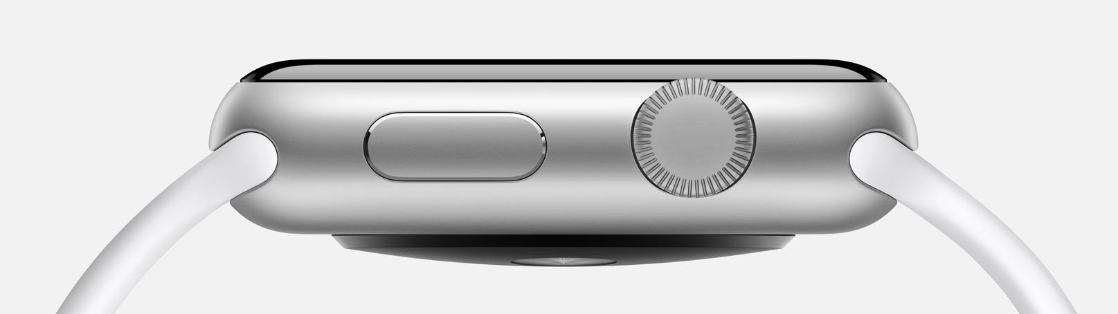 Precizní zpracování Apple Watch Sport s hliníkovým pouzdrem