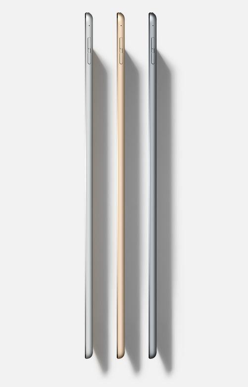 Opět nádherně tenké hliníkové tělo, na které jste u tabletů iPad zvyklý, iPad Pro měří v pase pouhých 6,9mm.