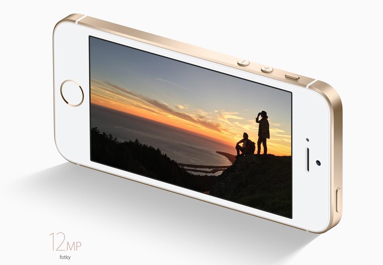 Špičkové fotografie, iPhone SE disponuje 12 Mpx iSight kamerou.