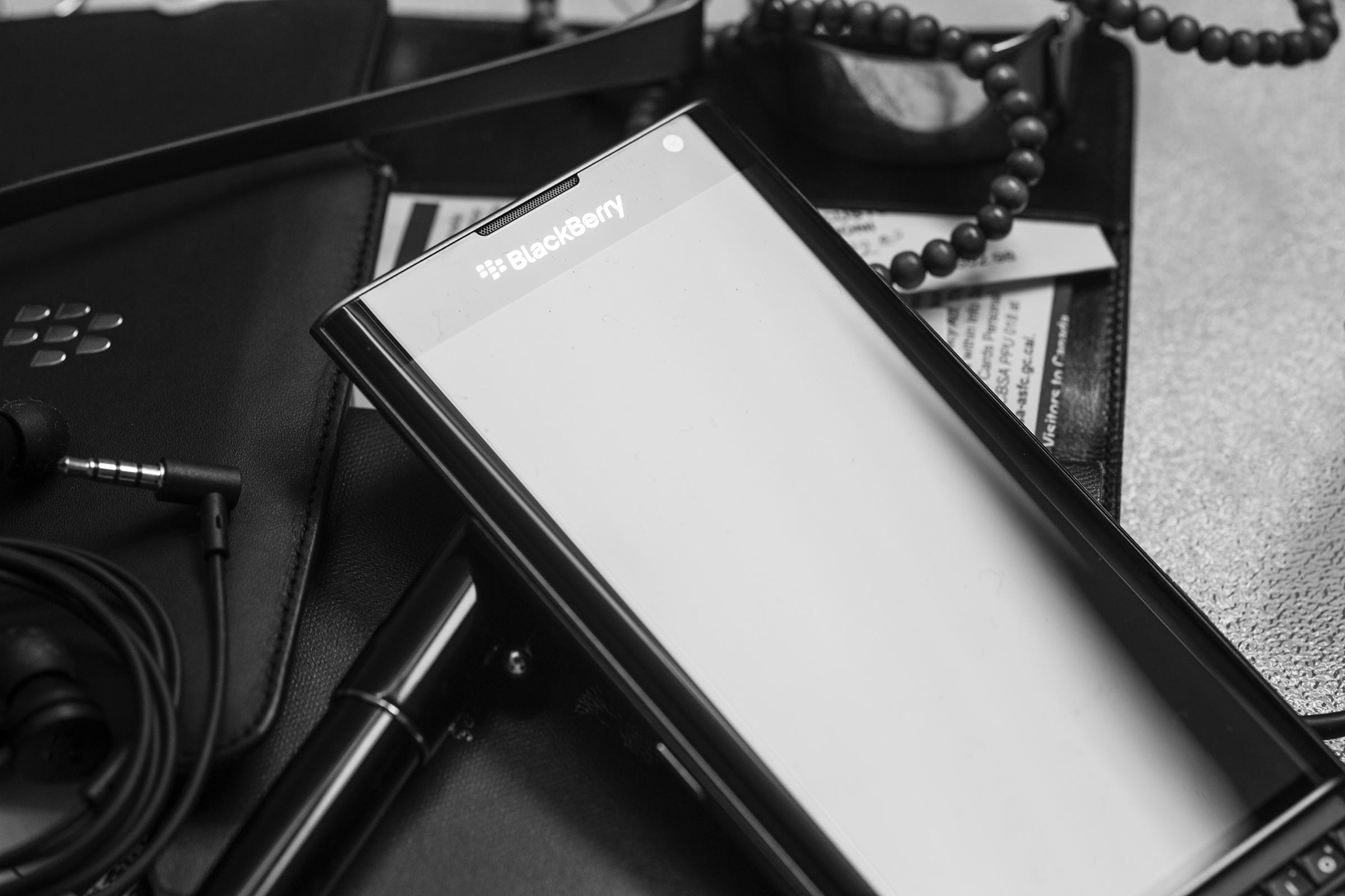 Luxusní displej BlackBerry Priv