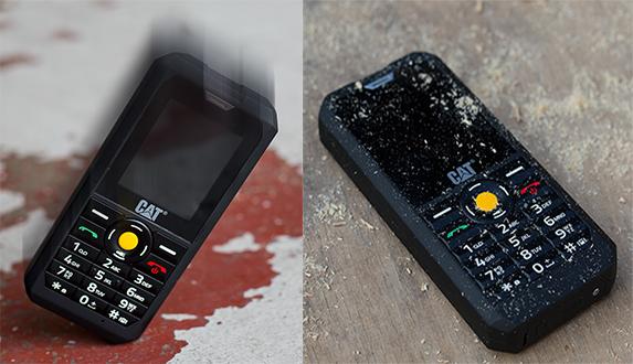 Špičková odolnost mobilního telefonu Caterpillar CAT B30