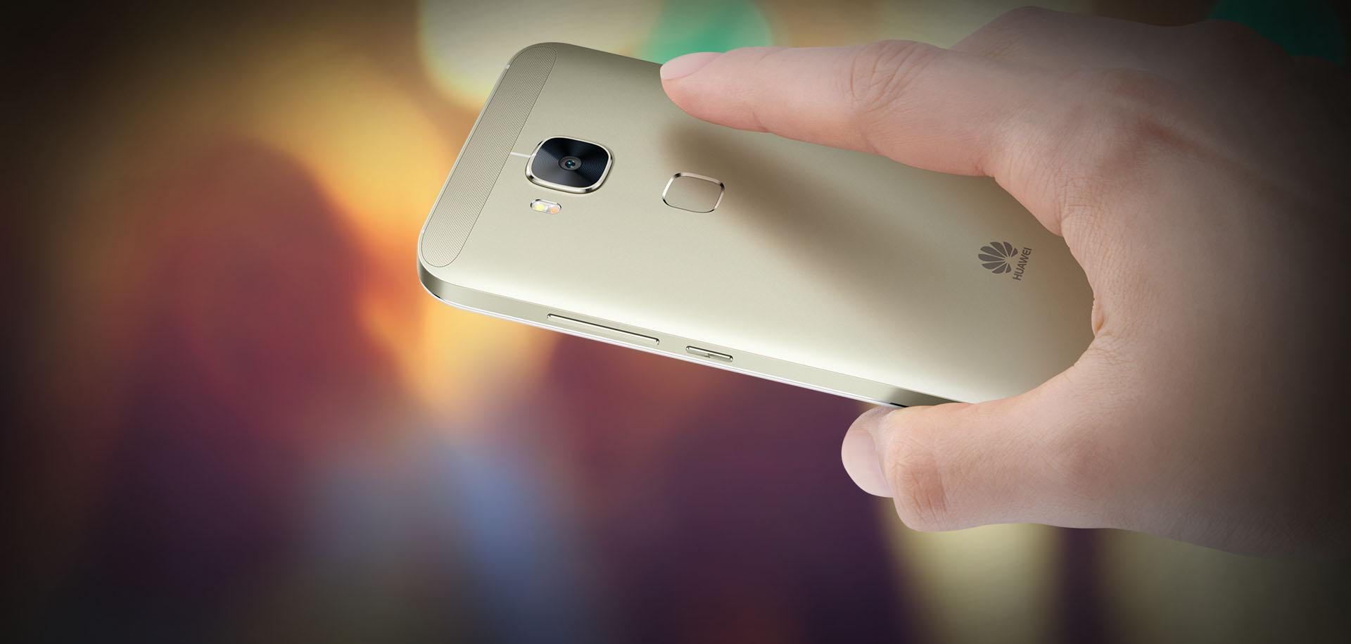 2x rychlejší čtečku otisků prstů nabízí Huawei G8, mobilní telefon, který vás nadchne.