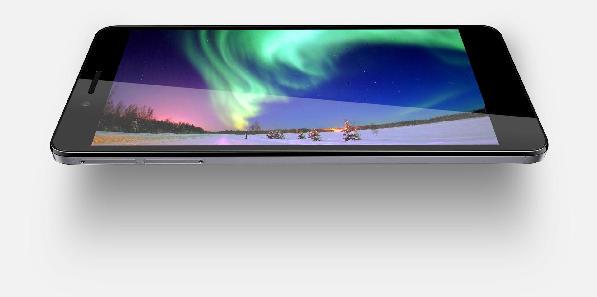 """Displej, který probudí váš obsah k životu, Huawei Honor 5X nabízí rozměrný 5.5"""" displej s Full HD rozlišením."""