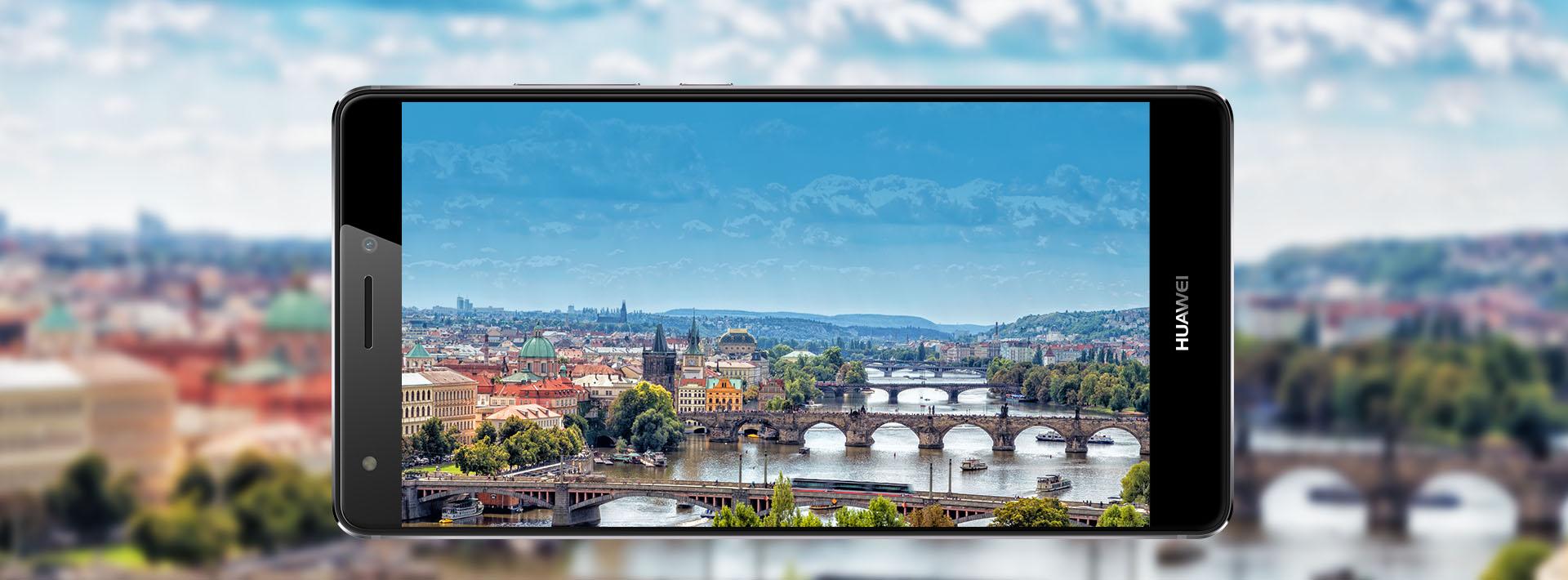 Krásnější displej nehledejte, Huawei Mate S vás naprosto ohromí.