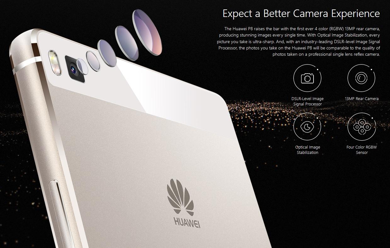 DSLR kvalita fotografii se špičkovým čipem, to vše nabízí Huawei P8.