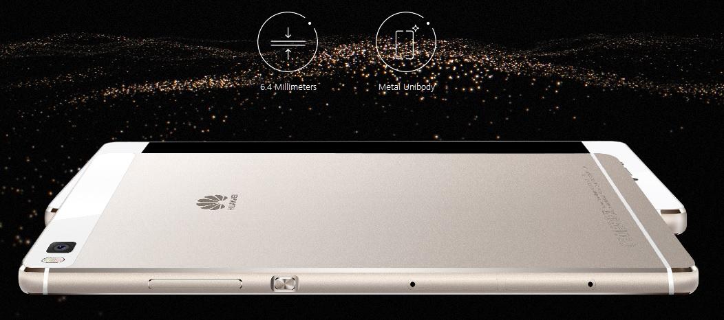 Geniální zpracování smartphonu Huawei P8