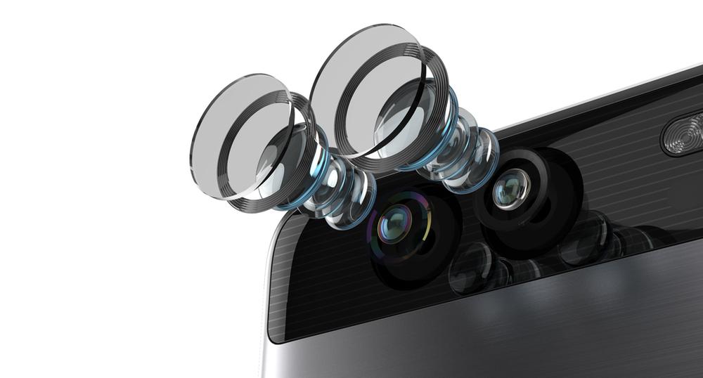 špičkové duální fotoaparáty Huawei P9