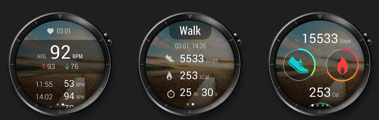 Fitness funkce Huawei Watch Classic