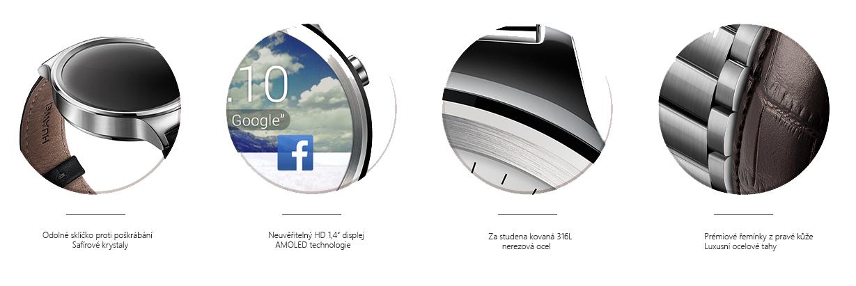 Zpracování hodinek Huawei Watch