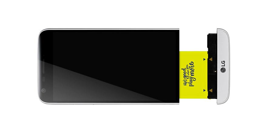 Modulární tělo je opravdu revoluční řešením rozšíření mobilního telefonu Lg G5