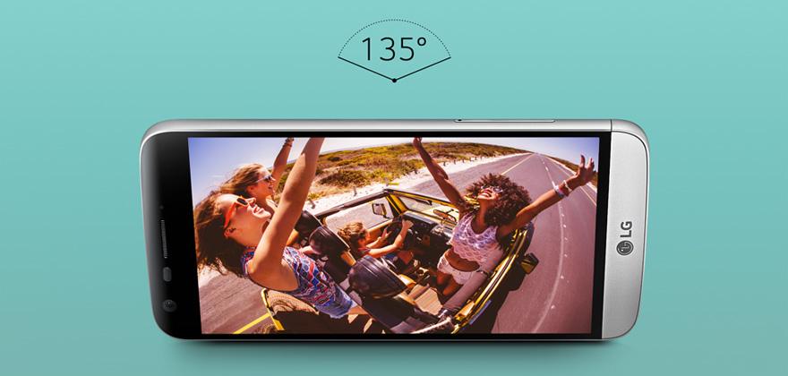 Briliantní kamera s duálními snímači vás uchvátí. LG G5 fotí famózně.