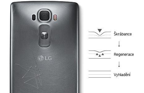 Regenerační zadní kryt smartphonu LG G Flex 2 H955.