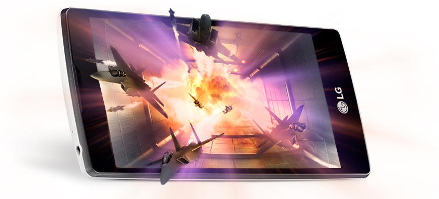 výkon LG Magna je dostačující i pro hraní 3D her.