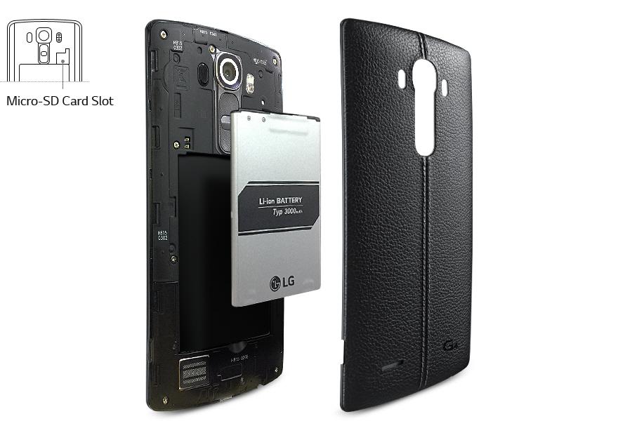 Baterie je vskutku obří a její výdrž ještě lepší. S LG H815 G4 se nikdy nemusíte bát o přežití dne.