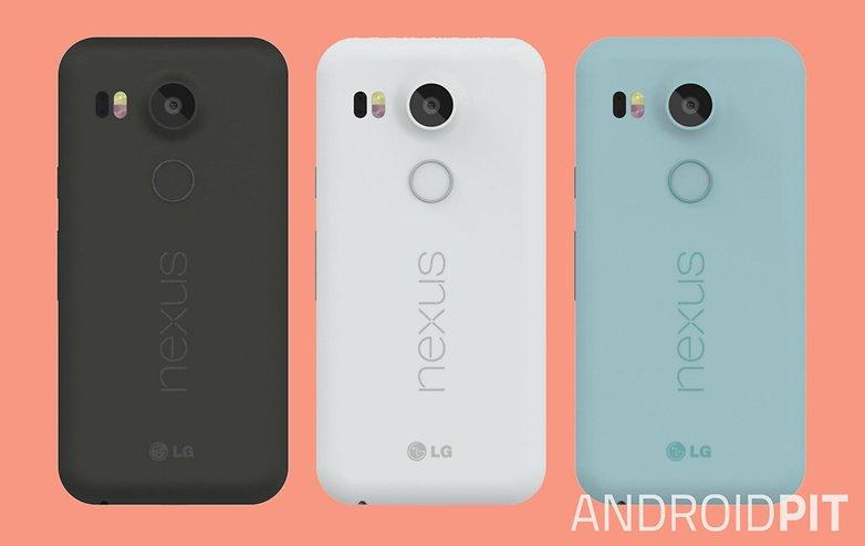 Čtečka otisků prstů k dispozici u nového Nexusu 5X.