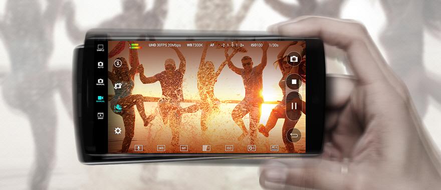 Připravte se na svět 4K. S mobilem LG V10 H960 se nemusíte ničeho bát, vaše videa budou skvělá za všech podmínek.