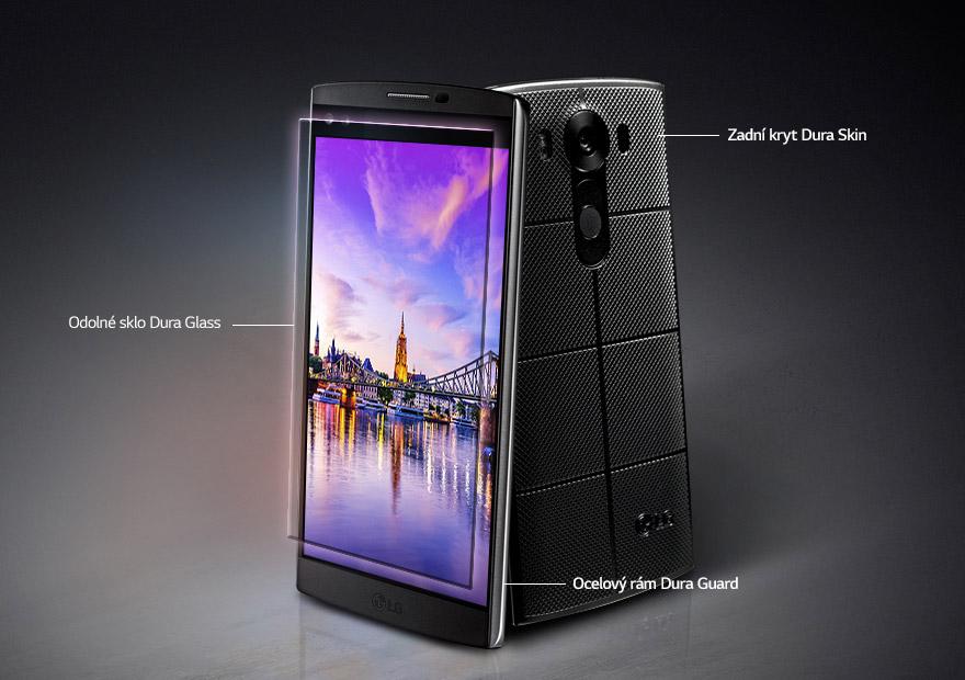 Prémiový smartphone LG V10 je vybavený rámem z nerezové oceli, kvalitním ochranným sklem Gorilla Glass 4 a spoustou dalších novinek.