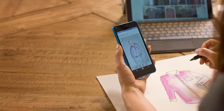 Dokumenty zvládnete levou zadní s Lumia 640