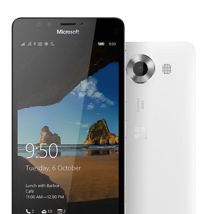 Stvořena pro velká věci, nová Microsoft Lumia 950.