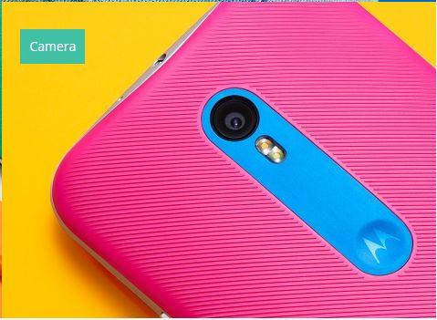 Kvalitní fotoaparát je základem Motorola Moto G 3. generace